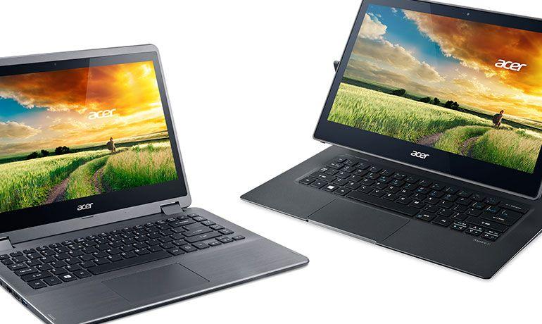 Acer Aspire R 13 e Aspire R 14