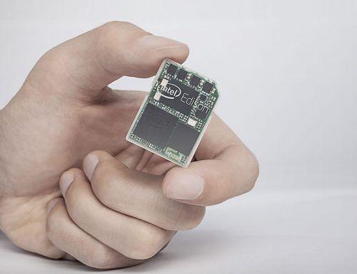 Intel Edison: um computador do tamanho de um selo de correios