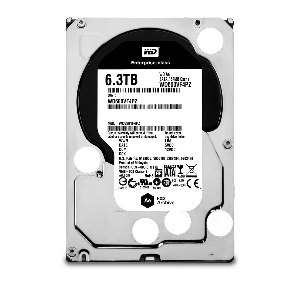 """WD introduz discos rígidos otimizados para """"cold storage"""" em centros de dados"""