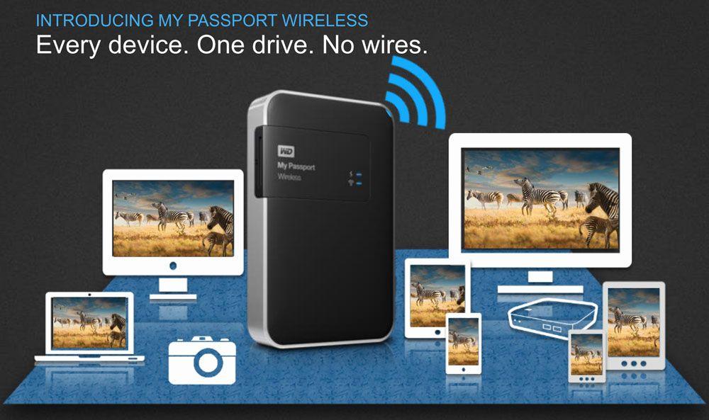 My Passport Wireless: Uma rede Wi-Fi privativa