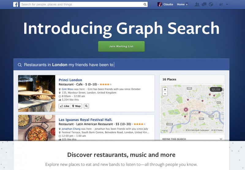 graph search | TecheNet | a Menina Digital