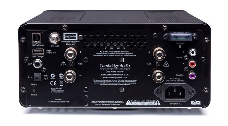 Cambridge Audio One conexões