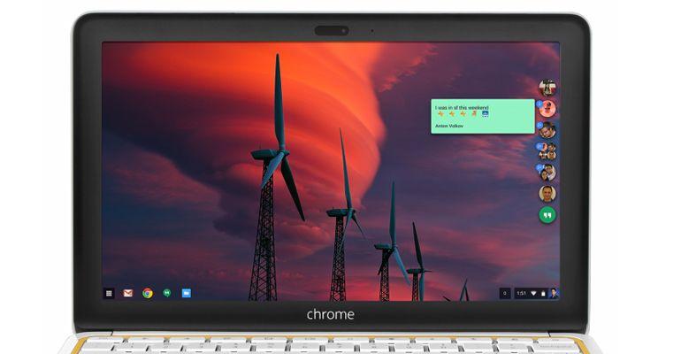 Google Hangouts Chrome OS Windows