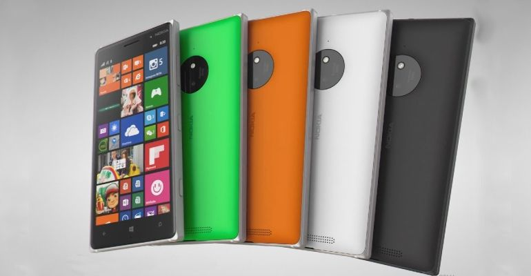 Nokia Lumia 735 830 Windows Phone 8.1