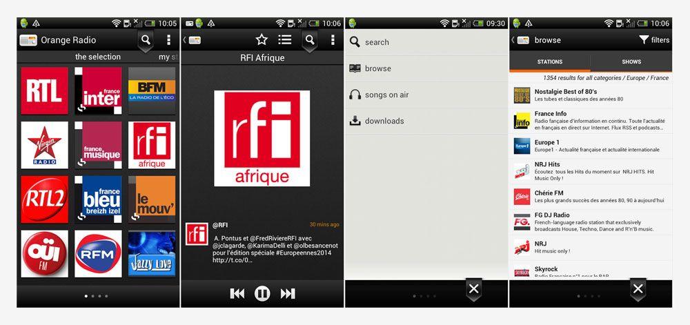 Orange Radio: uma navegação simples e intuitiva
