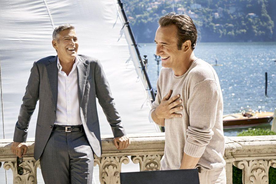 George Clooney e Jean  Dujardin