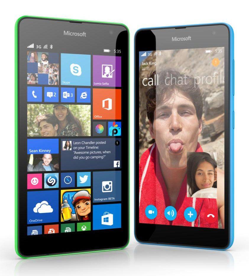 smartphone Lumia 535