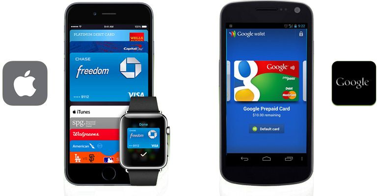 Google Wallet Apple Pay