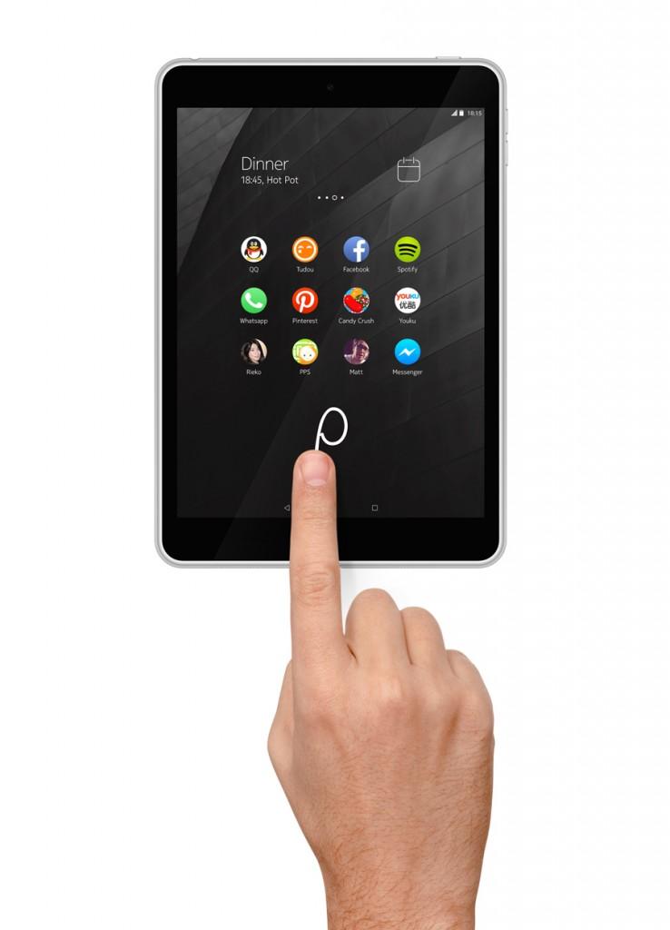 Nokia N1 gestos