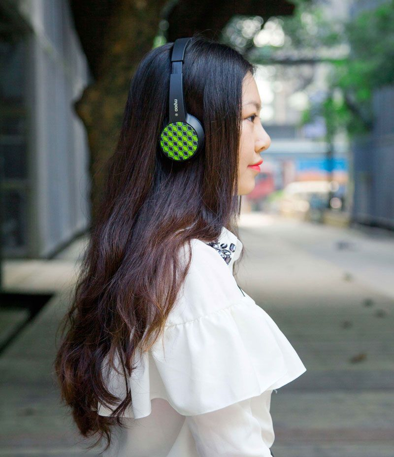 Headset Bluetooth Rapoo S100: um estilo fashion