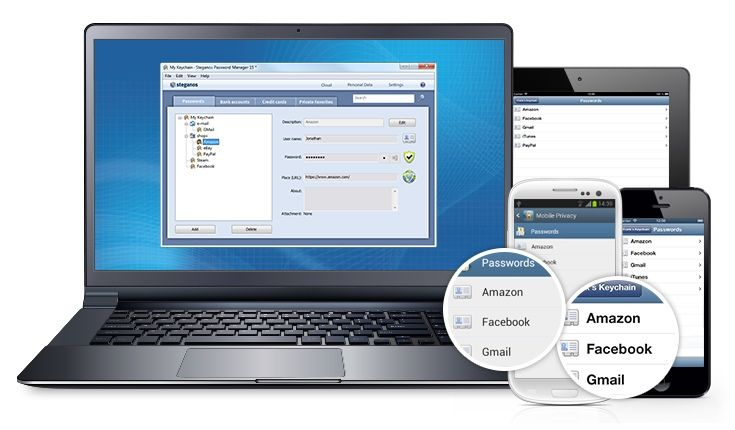 Steganos Password Manager 16