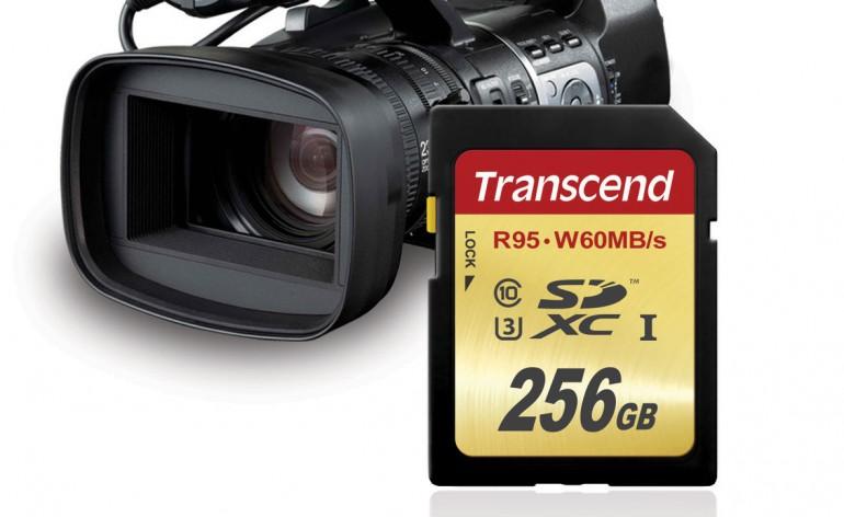 Transcend lança cartão de memória SDXC UHS-I com capacidade de 256 GB