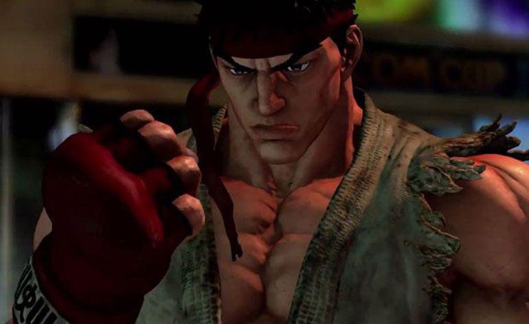 Imagem do Ryu no Street Fighter 5