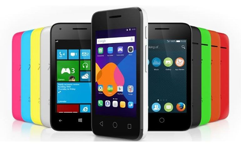 smartphone Alcatel Pixi 3
