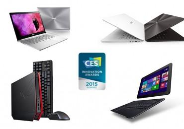 ASUS conquista sete Prémios de Inovação na CES 2015