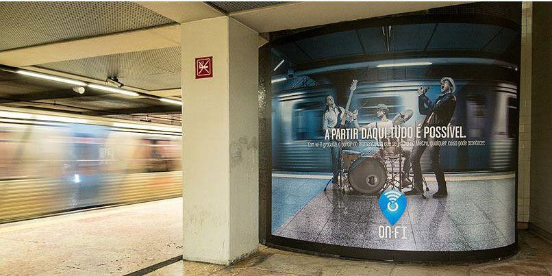 Metro de Lisboa com acesso à internet gratuito