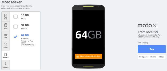 Moto X Pure Edition 64GB