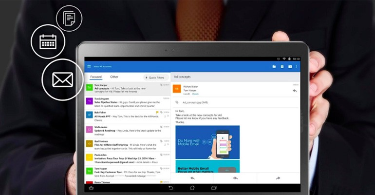 Micrososft Outlook Android