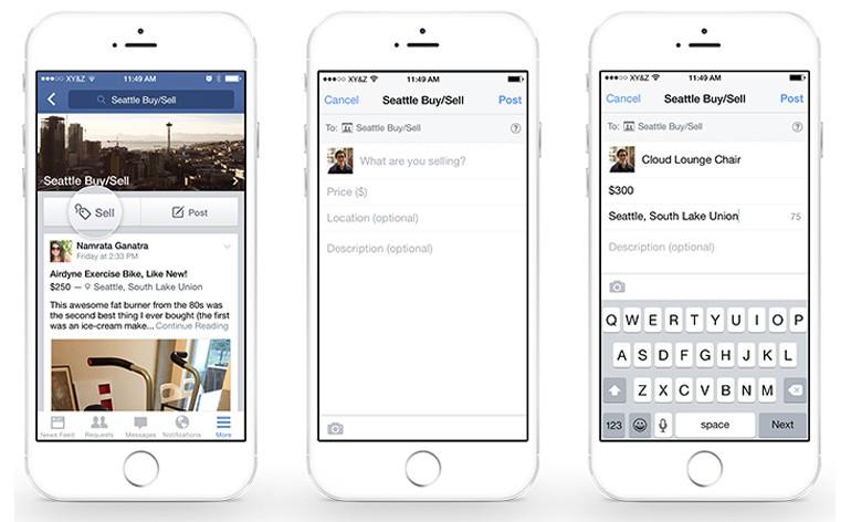 Facebook lança novas funcionalidades de Compra e Venda nos Grupos