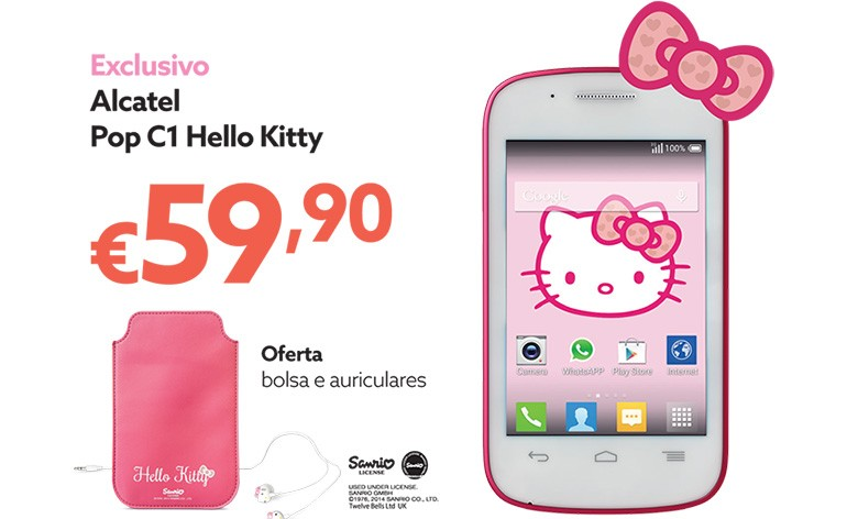 smartphone Hello Kitty