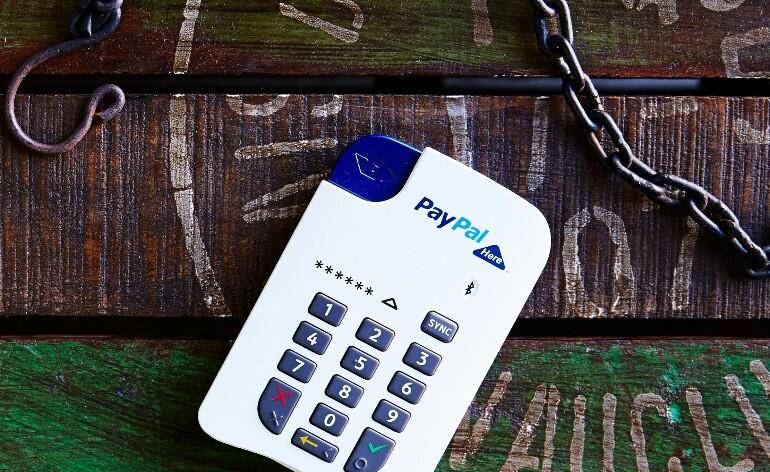 PayPal Here Chip
