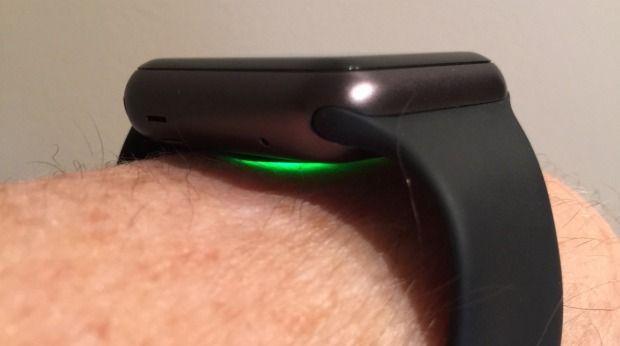 Apple Watch leitor de batimento cardíaco
