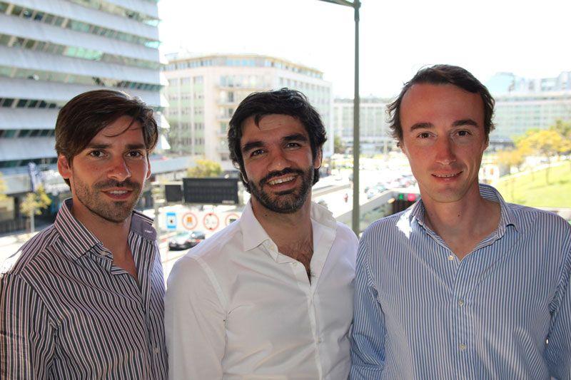 MagniFinance: Jorge Santos, Diogo Nesbitt e André Silva