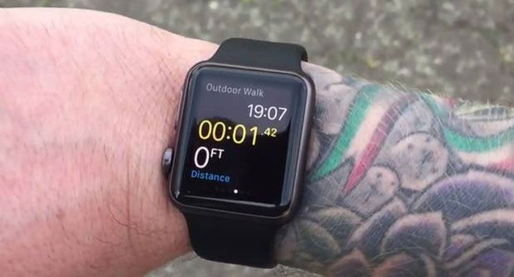 Apple Watch problema com tatuagens