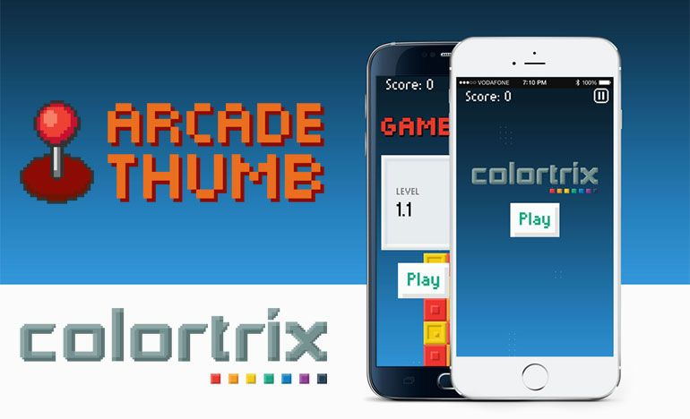 jogo Colortrix para iPhone e iPod Touch