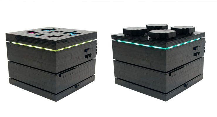 Computador feito de LEGO