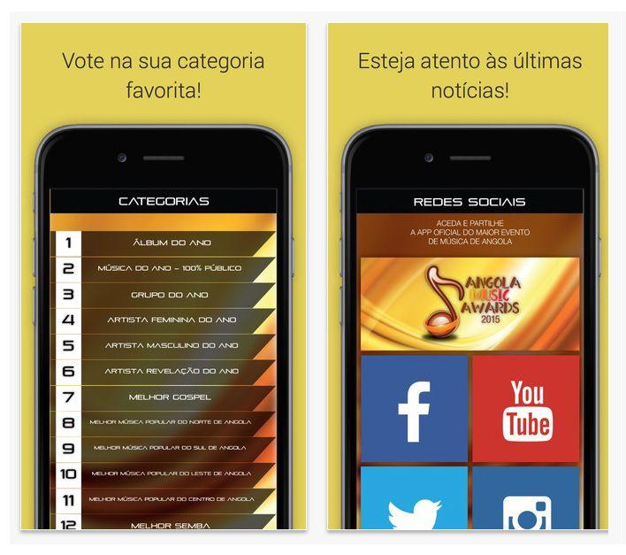 app Angola Music Awards 2015