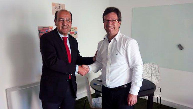 Director-Geral da ADRAL (Agência de Desenvolvimento Regional do Alentejo) – Eng. Rui Barroso, e o Diretor de Philips Iluminação em Portugal
