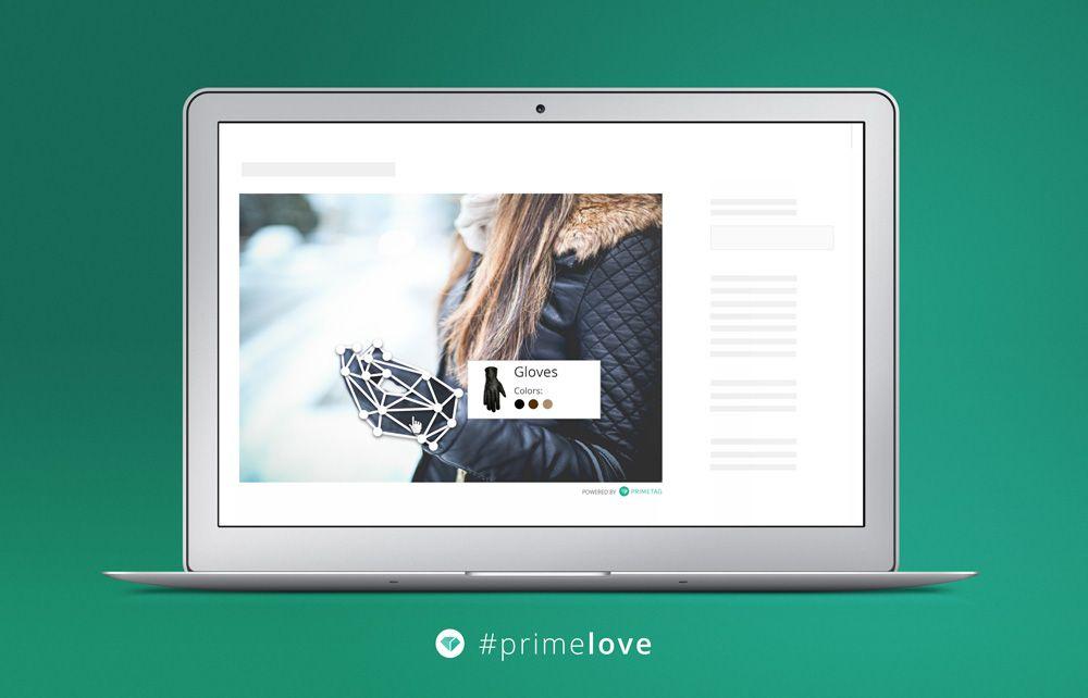Primetag: diversos modelos de imagens digitais interativas