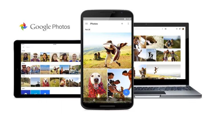 Google Photos Android iOS web
