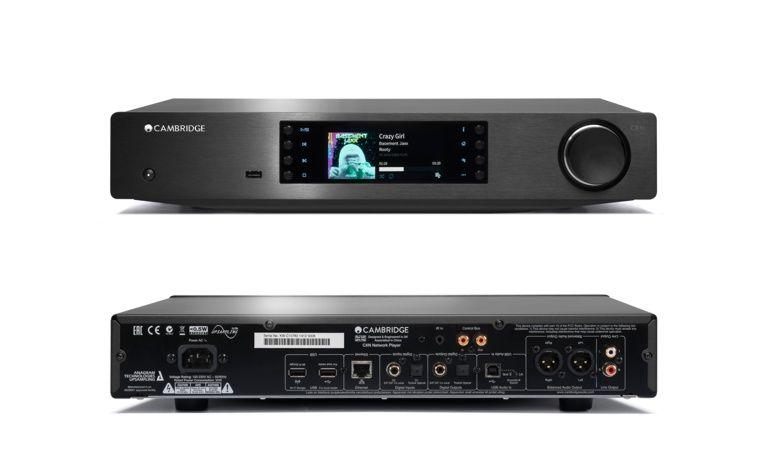 Cambridge CXN, um leitor de rede para streaming e áudio digital