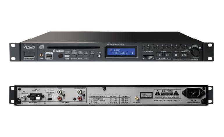 media player all-in-one Denon Professional DN-300Z