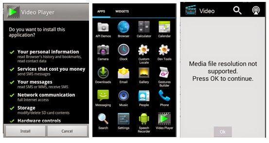 App vídeo com ransonware