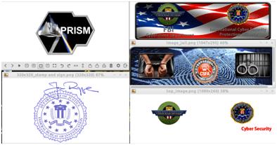 Imagens e documentos HTML do email Spam-1