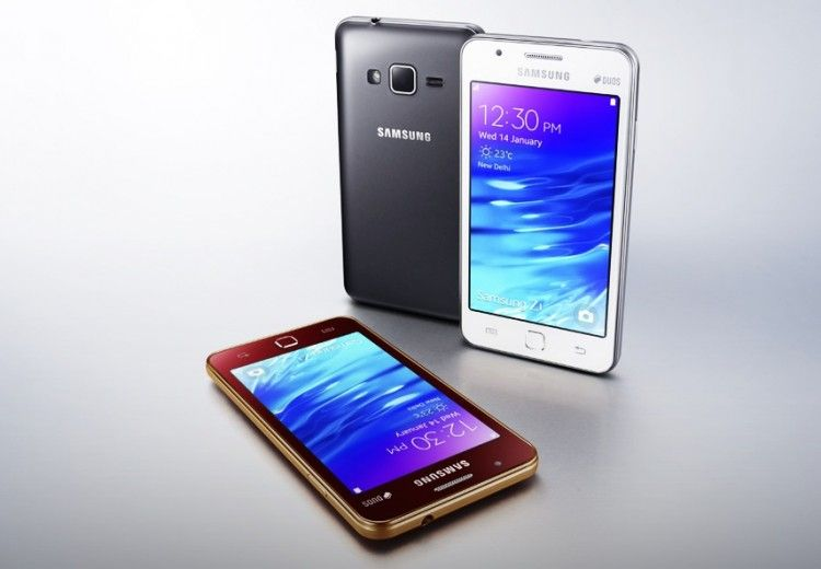 Samsung Z1 primeiro Tizen