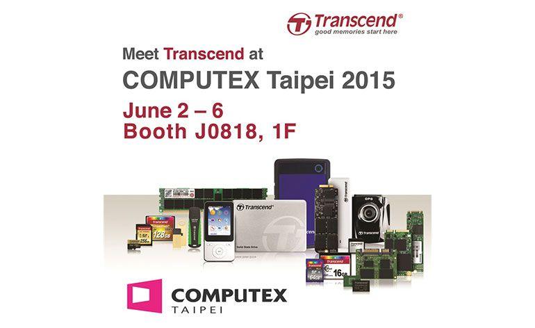Transcend com Novos Produtos na COMPUTEX TAIPEI 2015