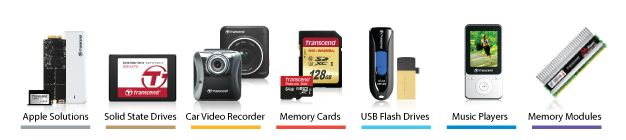 Transcend products