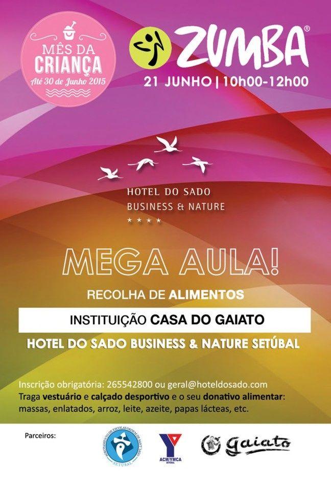 Hotel do Sado celebra Mês da Criança com Mega Zumba Solidária