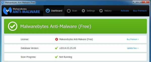 Software Malwarebytes