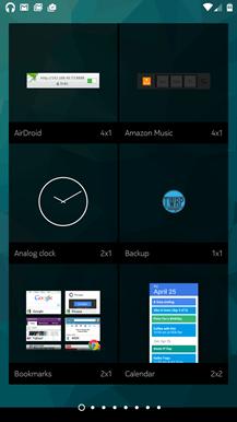 Nokia Z Launcher Widgets