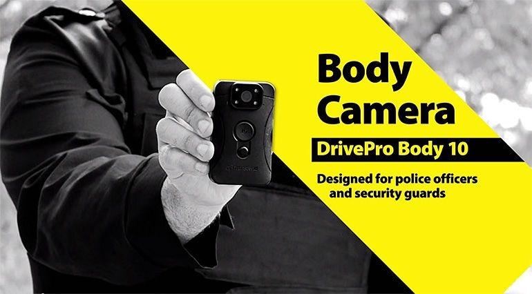 Transcend BodyCam DrivePro Body 10