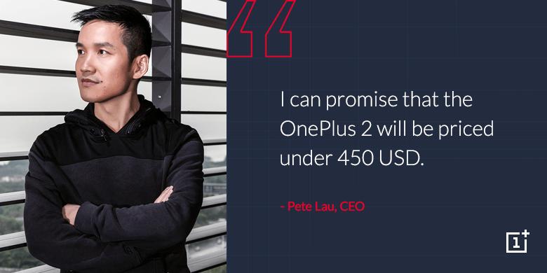 Pete Lau OnePlus 2