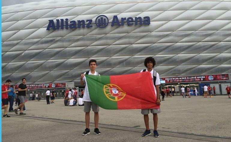 Allianz Junior Football Camp contou com participação especial de Manuel Neuer