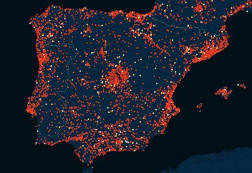 mapa da infidelidade portugal espanha