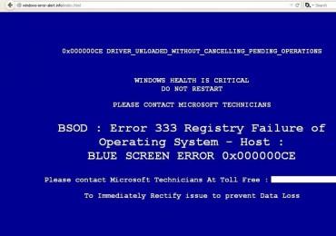 Windows ecrã azul