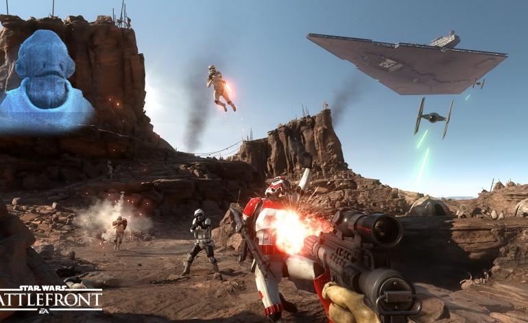 Star Wars Battlefront shooting